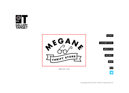 Gallery Targetトップ